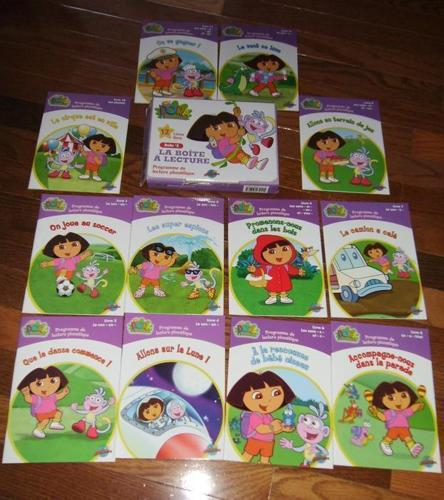 12 Livres Dora Boite #2 La Boite a Lecture