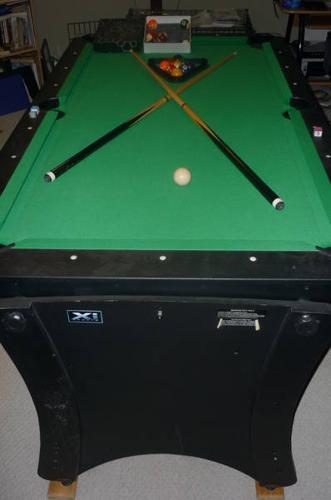 2 in 1 Air Hockey Table/Pool Table