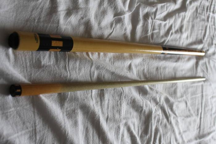2 Meucci Pool Cues for sale in St Thomas, Ontario - Baby is Coming