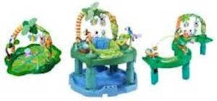 3 in 1 exersaucer!