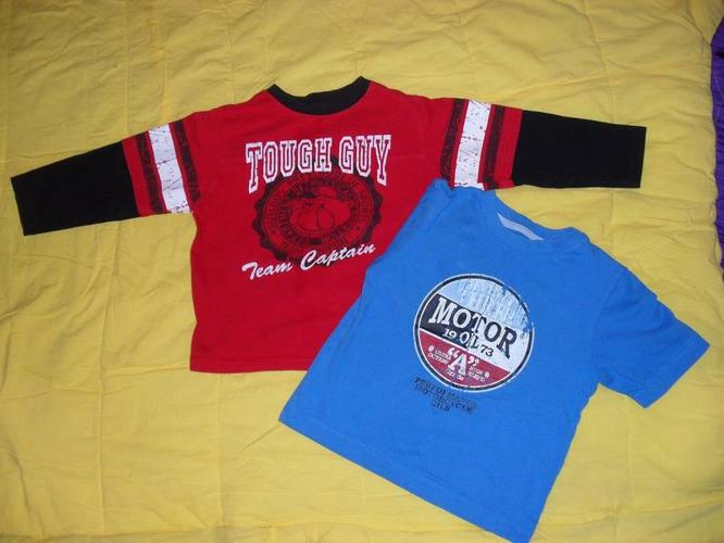 3 (Size 4) boys tops