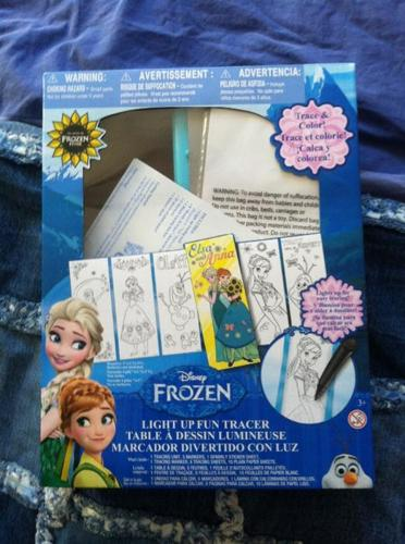 """""""Frozen"""" light up fun tracer BRAND NEW NEVER BEEN OPENED"""