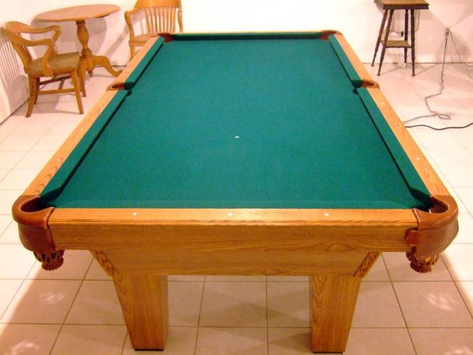X Olhausen Pool Table For Sale In Harrowsmith Ontario Baby Is - Buckhorn pool table