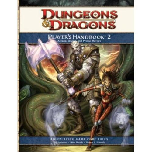4th Edition D&D Player's Handbook Collection Core Rulebooks