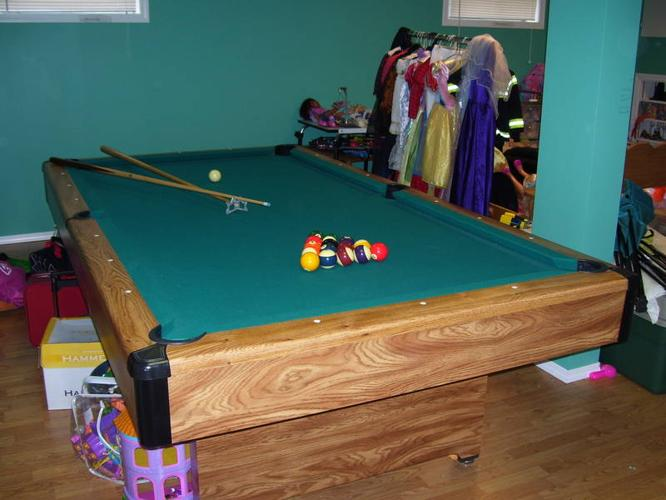 X Brunswick Pool Table For Sale In Prince George British Columbia - 4 x 8 brunswick pool table