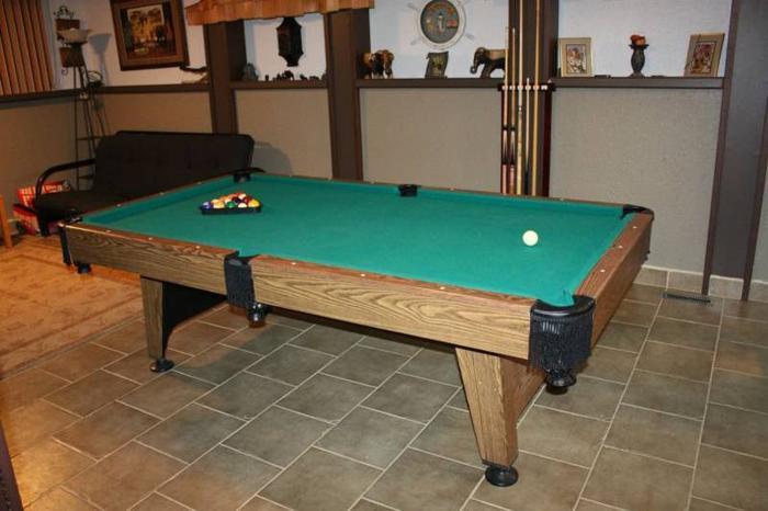 4x8 Cooper Pool Table 400 Obo For Sale In Medicine Hat Alberta