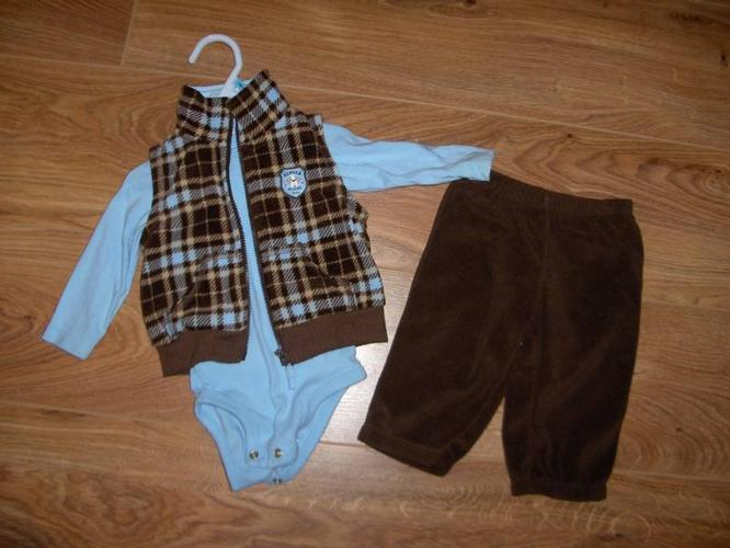 6-9 month winter clothing in new like condiion