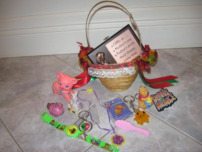 .....A Basket of Goodies...for the Little Ones!...