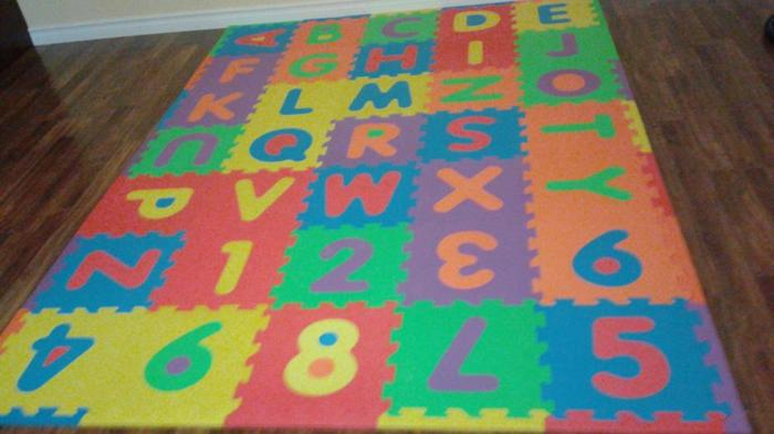 ABC Foam mat