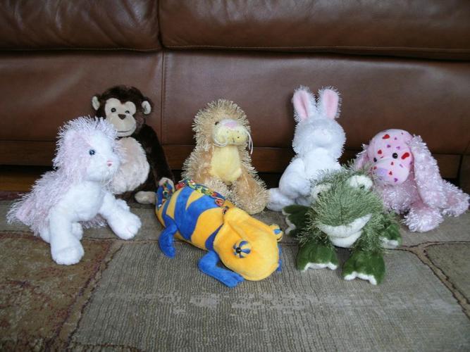 Assorted WebKinz stuffed animals - no codes - only $15