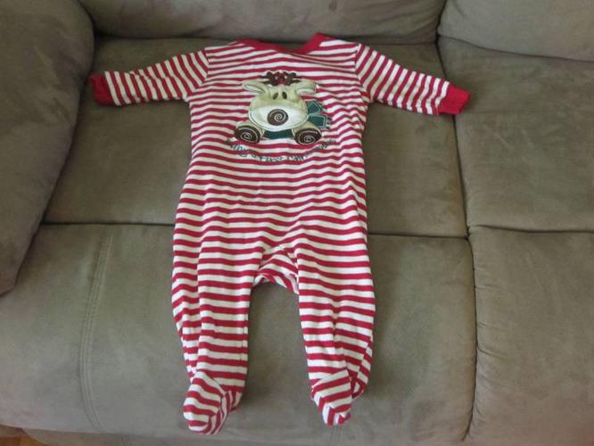 Baby's First Christmas Sleeper - 3-6 months