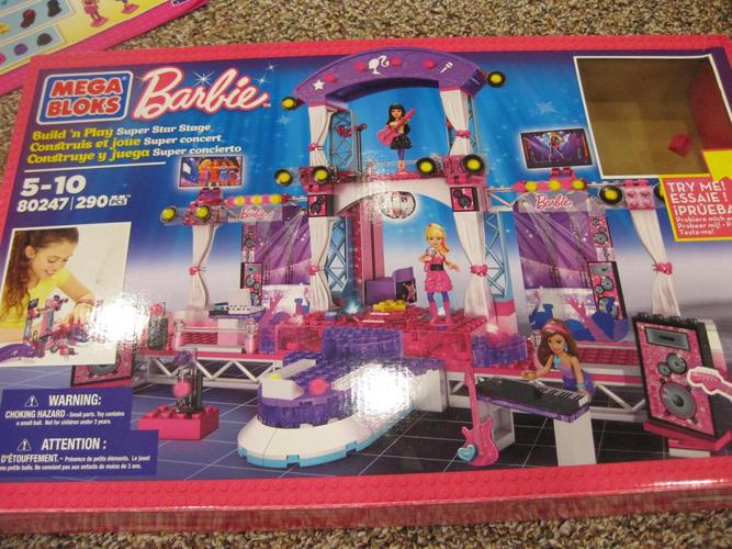 Barbie rock star lego