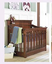 Beautiful Solid Wood Crib