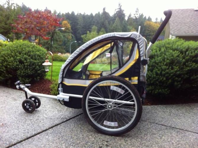 Bell Twin Stroller Bike Trailer For Sale In Nanaimo British