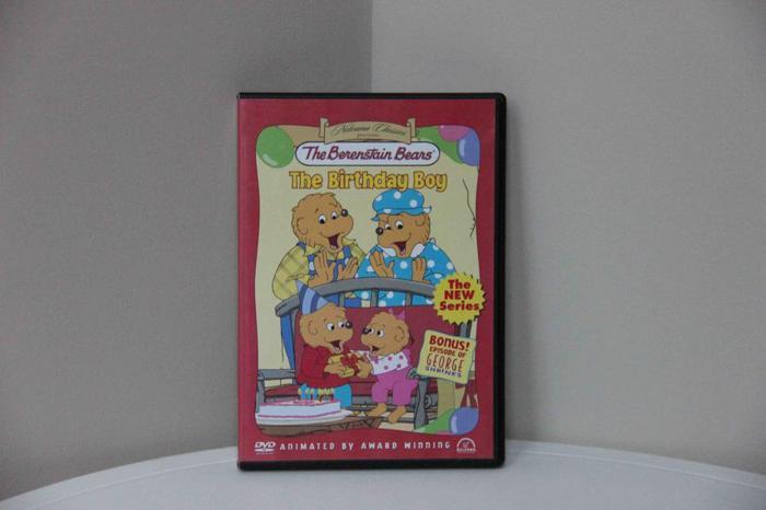 "Berenstain Bears' ""The Birthday Boy"" DVD"