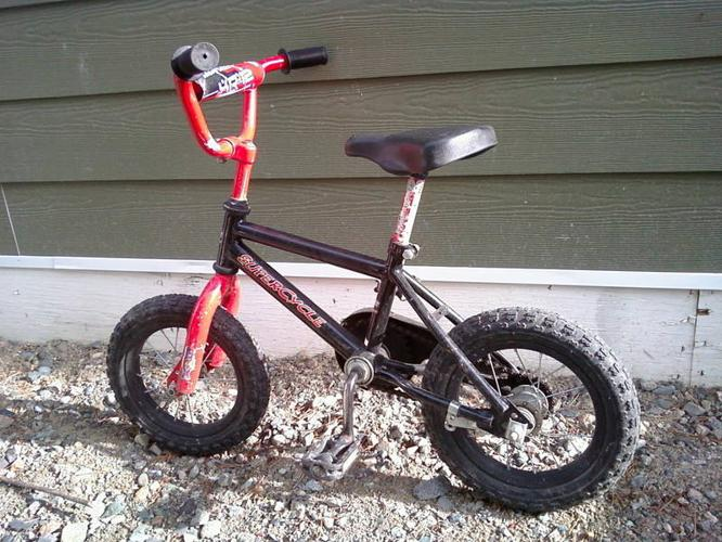 Bike & Helmet for 3 to 5 yr old