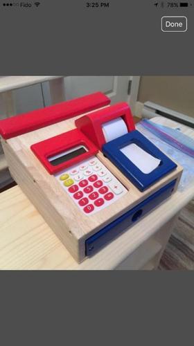 Brand New! Goki German Brand Toy Cash Register