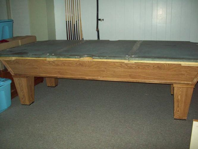 Brunswick Pool Table For Sale In Dalhousie New Brunswick Baby Is - How do you take apart a pool table