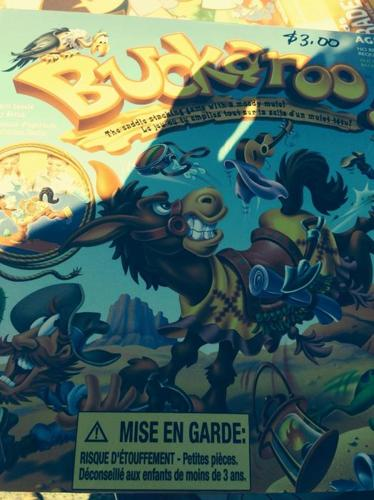 BUCKAROO BOARD GAME