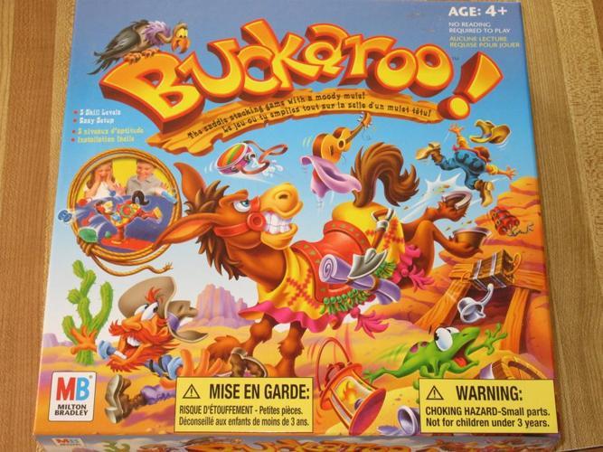 Buckaroo game - $6
