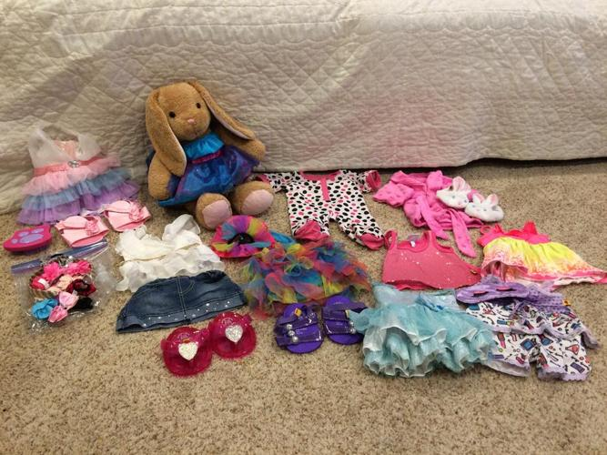 Build A Bear (Rabbit) and Clothes