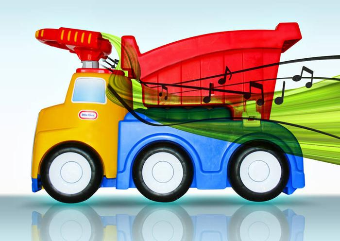 Little Tikes Ride On Toys : Camion handle hauler haul ride de little tikes for sale in