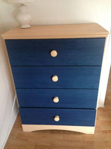Captain Bed with Dresser