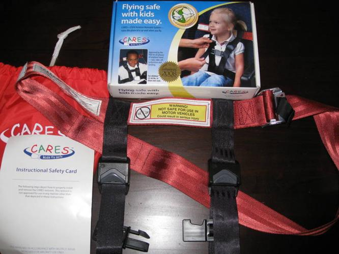 CARES Child airplane Restraint System