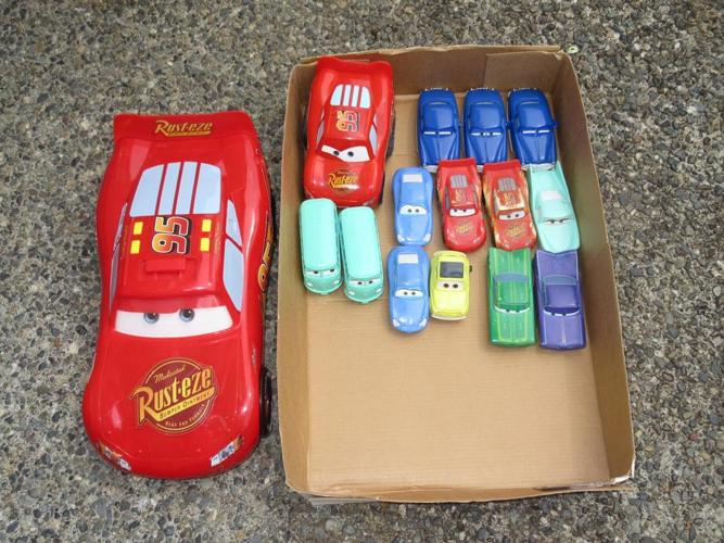 Cars movie toy lot