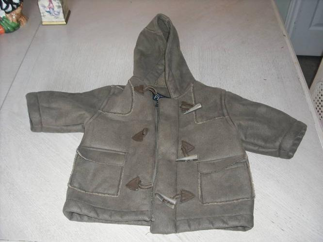 Children's Place -Girls Brown Coat- Size 6-9 Months
