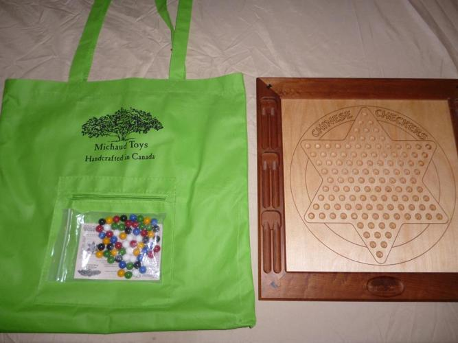 Chinese Checkers Deluxe Hand Crafted Edition - Michaud Toys