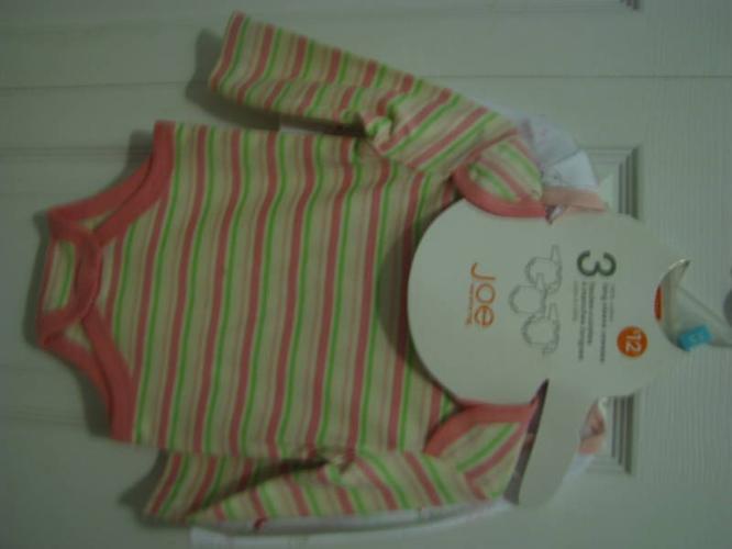 christmas onsie's/diaper shirts nwt 3-6m