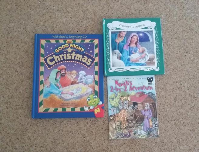 Christmas/Christian story books