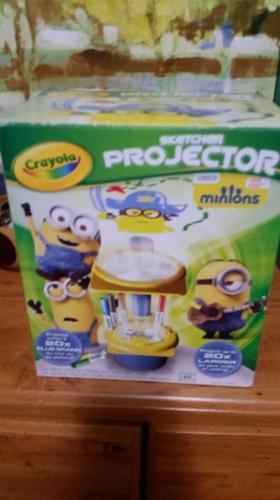 Crayola Sketcher Projector - Minions