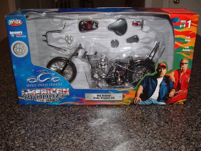 DIE-CAST OCC MODEL BIKE KIT