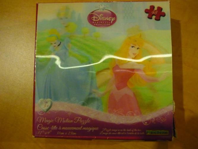 "Disney Princess ""Magic Motion"" 48 Piece Puzzle"