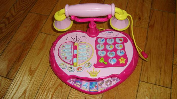 Disney Princess Talk 'n Teach Telephone