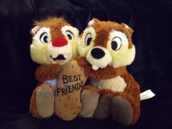 Disney's CHIP 'N DALE Stuffed Toy