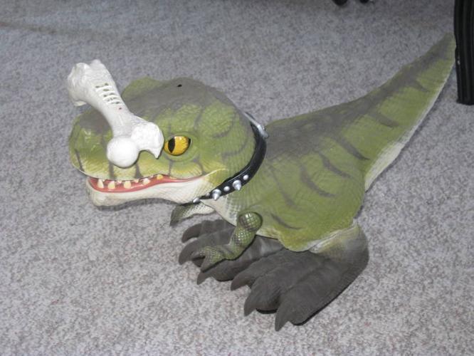 Drex interactive dinosaur