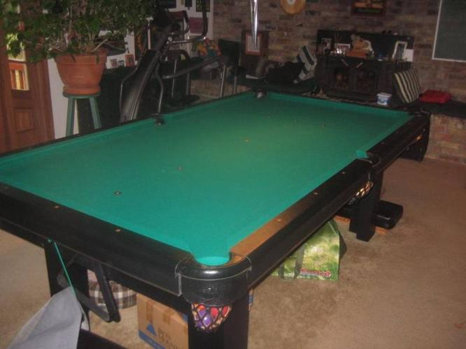 Dufferin Slate Pool Table For Sale In Dutton Ontario Baby Is Coming - Pool table scorekeeper