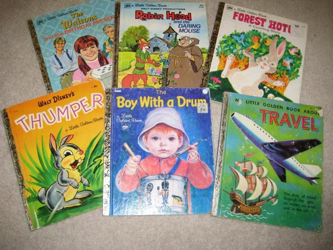 EARLY EDITION LITTLE GOLDEN BOOKS