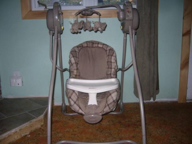 73b4d7c17f1 Eddie Bauer Baby Swing for sale in Kincardine