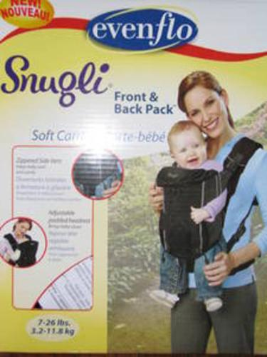 snugli front and back carrier