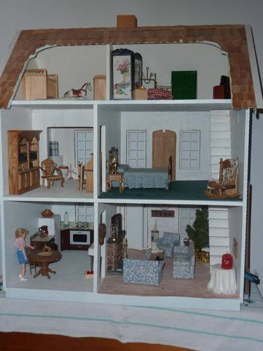 extreme home makeover - doll house edition