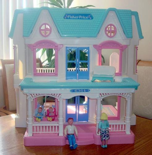 Fisher Price Dream Dollhouse With Accessories For Sale In