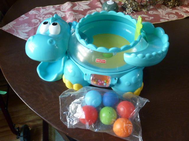Fisher-Price - Go Baby Go - Poppity Pop Musical Dino