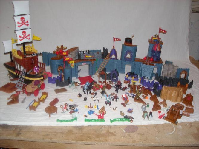 fisher-price Imaginex castle & ship