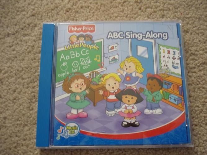 Fisher Price / Little People / ABC Sing-Along CD for sale in North