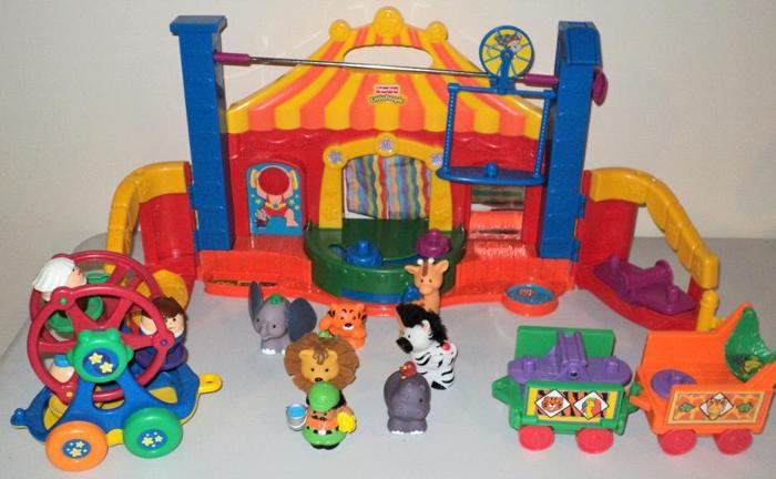 Fisher Price Little People Circus, Zoo plus extras