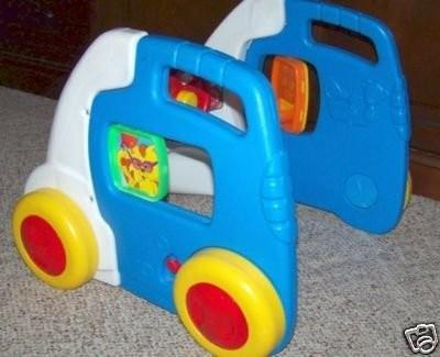FISHER PRICE VAN CAR WALKER